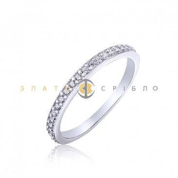 Серебряное кольцо «Сияние»