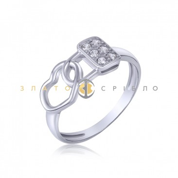 Серебряное кольцо «Только моя»
