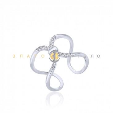 Серебряное кольцо «Метафора»