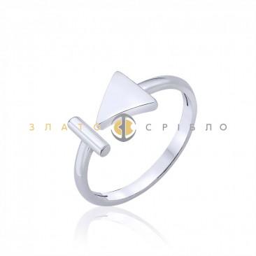 Серебряное кольцо «Креатив»