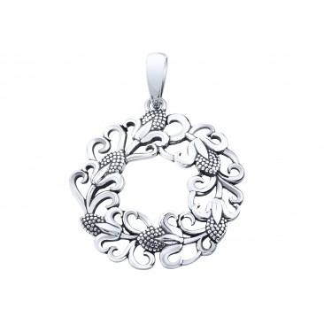 Срібний підвіс