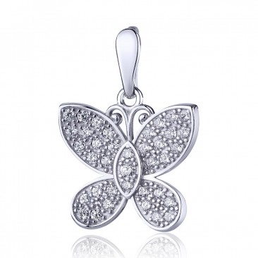 Серебряный подвес «Цветочная фея»