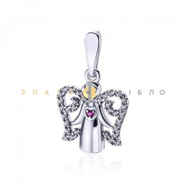 Серебряный подвес «Милый ангел»