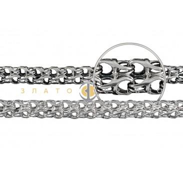 Серебряная цепочка ручной работы «Рамзэс»