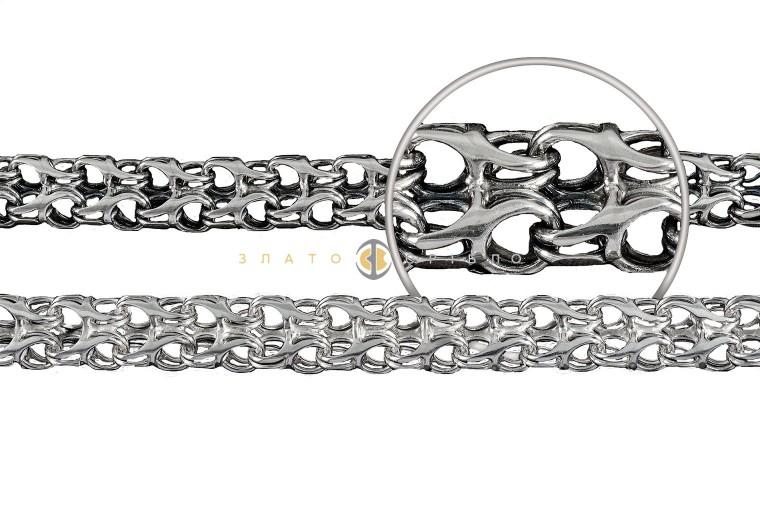 Серебряная цепочка ручной работы «Рамзес»