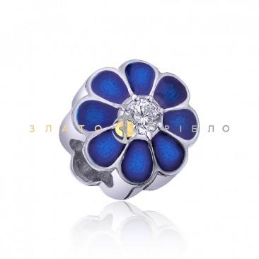 Серебряный шарм «Дыхание весны»