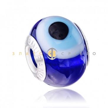 Серебряный шарм «Глаз Фатимы»