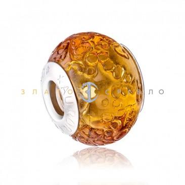 Серебряный шарм «Амбре»