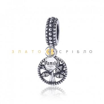 Серебряный шарм «Family Tree»
