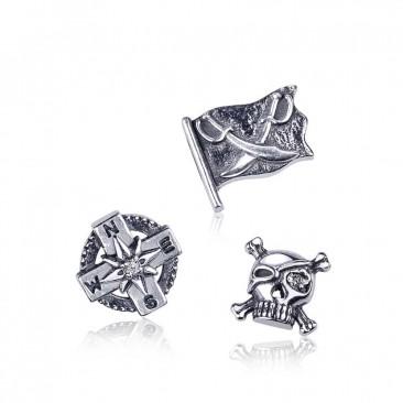 Серебряные шармы-миниатюры «Приключения»