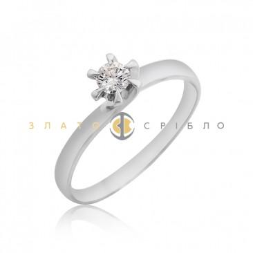 Золота каблучка «Дженна» з діамантом