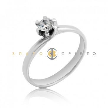 Золота каблучка «Emily» з діамантом 417dd1bda3510