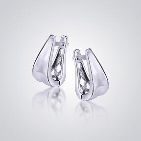 Срібні сережки