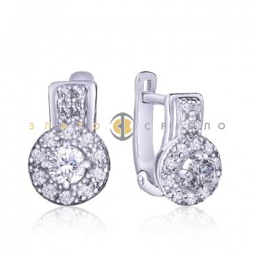Серебряные серьги «Антик»