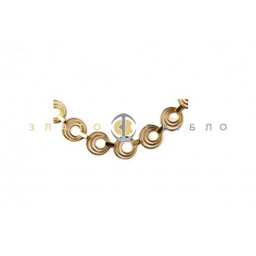 Золотое колье «Фантазия»