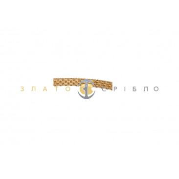 Золотой браслет «Дамаск»