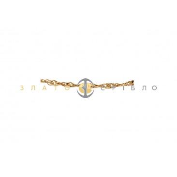 Золотой браслет «Аляска»