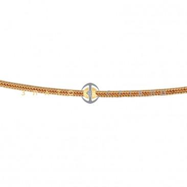 Золотой браслет «Агата»