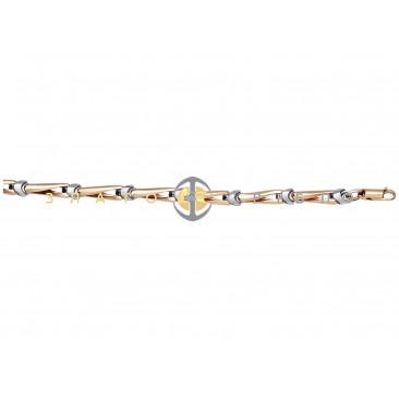 Золотой браслет «Кости»