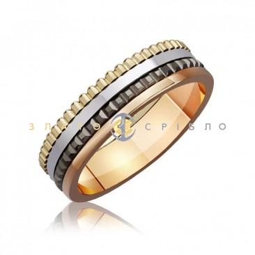 Обручальное золотое кольцо «Boucheron Quatre style»